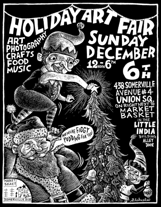 Holiday Art Fair – December 6th!